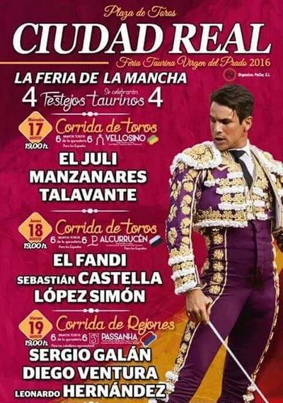Toros Ciudad Real 2016